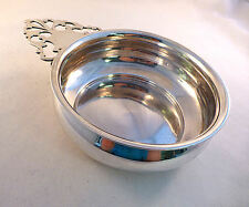 "Large American Coin Silver Porringer  5 1/4"" bowl diiameter 7.13 troy ounces"