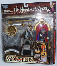 HORROR : THE PHANTOM OF THE OPERA CARDED ACTION FIGURE SET BY MCFARLANE (MLFP)
