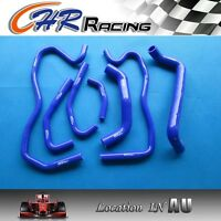 Holden Commodore VE 6.0L LS2 SS HSV 2006-on silicone radiator heater hose BLUE