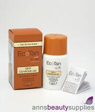 EcoTan Tan Enhancer Deep Contour Gel Body Cosmetic 50 ml Self Tanning Bronzer