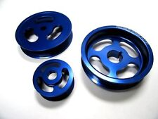 OBX Power Pulley Kit for 02-06 Acura RSX Type-S K20A Blue 3pcs