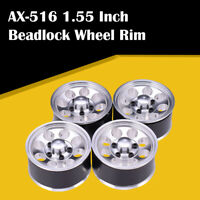 "AX-516 4PCS 1.55"" Metal Wheel Rim Beadlock Hub for 1/10 RC Crawler Car Axial"
