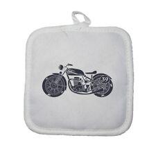 Manique gant de cuisine moto biker