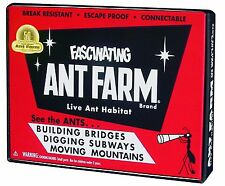 Uncle Milton Vintage Ant Farm, New, Free Shipping
