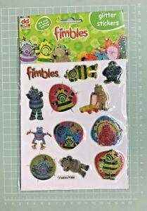 Fimbles [ Glitter Stickers ]