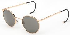 Randolph P3P1734 23K Gold Cable Temple Gray Polarized Lens Sunglasses