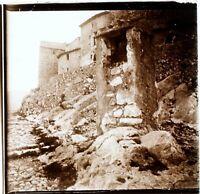 Francia Fortificazioni Ca 1910, Foto Stereo Vintage Placca Lente VR3L4n2