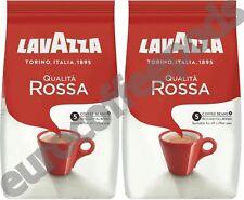 2 X LAVAZZA Qualità Rossa Chicchi Di Caffè 1 KG