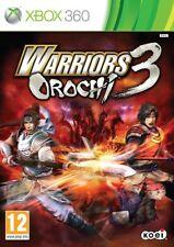Microsoft X-BOX XBOX 360 gioco Warriors Orochi 3 III NUOVO
