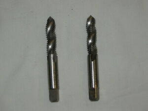 Thread Taps (Pair), Hanson Whitney, 3/8-16, Made in USA, 2 For the Price of 1