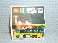 LEGO ® Town Classic de recette 647 lorry with Rails Legoland instruction b696