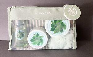 2015 The Body Shop Fuji Green Tea 4 Pc Gift Set Shower (Q)