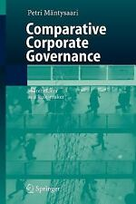 Comparative Corporate Governance : Shareholders as a Rule-Maker by Petri...