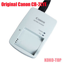 Genuine Original Canon CB-2LYE Charger For NB-6L NB-6LH Battery IXUS300 S90 S95