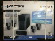 Carrara Acoustics C-2000 Professional 5.1-Home Theater System 1500 watt Hdtv