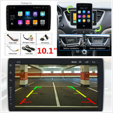 Android 9.0 1DIN Rotatable Touch Screen Car Stereo Radio Quad Core 16GB GPS Wifi
