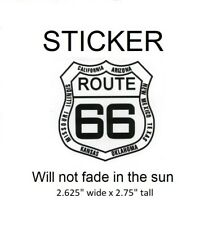 """Route 66 with State Names Vinyl Sticker - Will not fade in sun, 2.625"""" x 2.75"""""""
