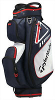 TaylorMade Golf Select Cart Bag 14-Way Navy/Red/White 2019 Free Shipping 5 Lbs