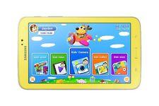 """Samsung Galaxy Tab3 Kids 7"""" 8 GB 1 GB RAM Giallo con Cover Protettiva Arancione"""