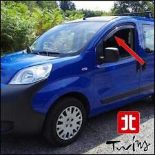 Deflettori Antiturbo Oscurati Fiat Fiorino e Qubo Citroen Nemo Peugeot Bipper