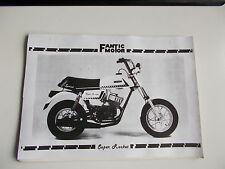 CATALOGO PARTI DI RICAMBIO FANTIC MOTOR SUPER ROCKET 50 DALL'ANNO 1980