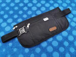 RFID Security Waist Belt Bum Bag Jogging Running Travel Pouch Keys Mobile Money
