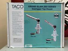 "Taco Marine Grand Slam Gs280 Mount 1-1/2"" Outrigger Pair Gs-280 Brand New"