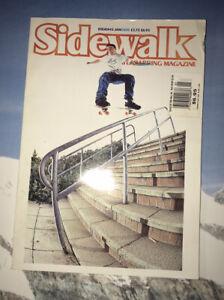 Vintage sidewalk Surfer Skateboard Magazine Issue 43 January 2000