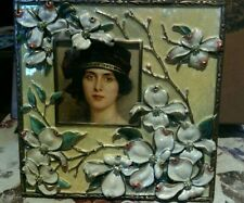 """Jay Strongwater Frame, Sarah from English Gardens 7.25""""x7.25"""" approx new in box!"""