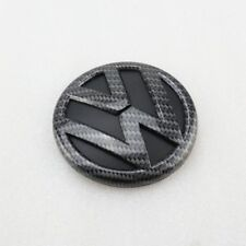 Carbon Fiber Fibre VW Logo Golf MK7 Rear Badge Emblem TDI GTI GTD TSI R