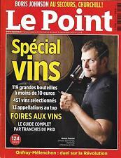 LE POINT N°2243 03/09/2015 SPECIAL VINS/ SPECIAL CHASSE/ MIGRANTS/ LA MECQUE
