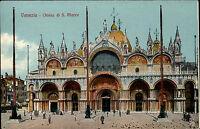 Venedig Venezia Italien Italia Venetien AK ~1910 Basilica di San Marco Markusdom