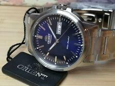 Orient blue sunburst effect RA-AA0C02L19B Automatic 22 Jewels Men's Watch