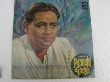 Great Master Great Music Pannalal Ghosh LP Record Bollywood India-1138