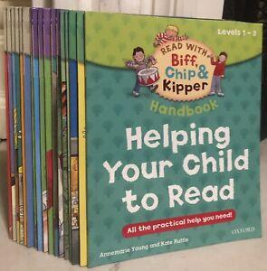 Oxford Reading Tree Read Biff Chip Kipper Level 1-3 Phonics 17 Books