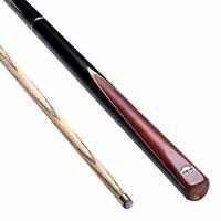 ASH Hardwood Pool Cues 57 inch Snooker Cues 3/4 Joint 9.7mm Tips 19oz Pool Cue