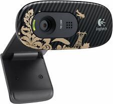 Logitech - HD Webcam C270 - VICTORIAN DESIGN VIDEO CALLS RECORDING PHOTO MIC