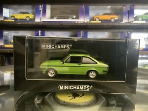 Minichamps 1975 Ford Escort Mk2 RS2000 Signal Green 1/43 MIB Ltd Ed 400 084301