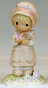 Precious Moments 'We Are God's Workmanship' Figurine   1982   USED