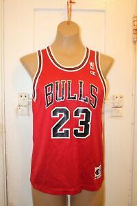 CHAMPION Chicago Bulls Michael Jordan #23 Jersey YOUTH Boys M 10-12 Vintage READ