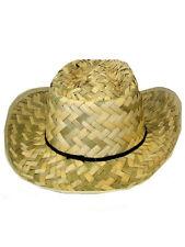 Mens Ladies Fancy Dress Cowboy Western Unisex Cowgirl Hat Cap New Ranger Adult