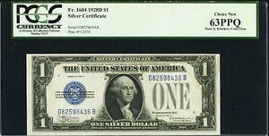 Fr. 1604, $1 1928D Silver Certificate. PCGS Choice New 63PPQ