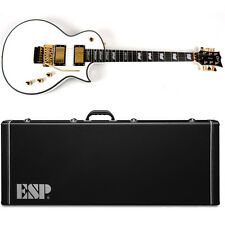 ESP LTD EC-1000 FR Snow White LXEC1000FRSWF Floyd Fishman EXCLUSIVE with Case
