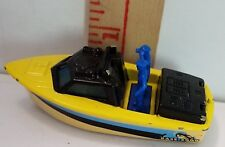 1976 Police Launch Superfast Matchbox Loose