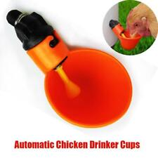 Bird Coop Feed Poultry Automatic Water Drinking Cups Chicken Fowl Drinker Supply