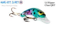 Oar-gee Lil Ripper 4cm 3.4g Bream, trout, Bass freshwater fishing lure;QRT