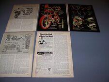 VINTAGE..1969 BICYCLES GRABBER HUGGER..HISTORY/PHOTOS/DETAILS...RARE! (725F)