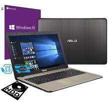 "NOTEBOOK ASUS INTEL I3-7020U RAM 4GB HD 500GB LED 15,6"" WINDOWS 10 PRO + BORSA"