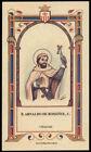 santino-holy card B.ARNALDO DE ROSSINOL mercedario