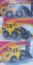 Majorette 52053065 Baumaschine Tracto Radlader, Frontlader beweglich
